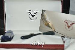 Visconti Copernicus Blue Limited Edition 14K Nib Crescent Fountain Pen 409/999