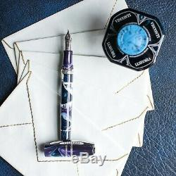 Visconti Homo Sapiens Limited Edition Midnight in Florence Purple Fountain Pen