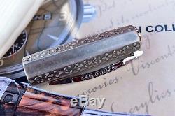 Visconti Medici Il Magnifico Limited Edition Marble Sterling Silver Fountain Pen
