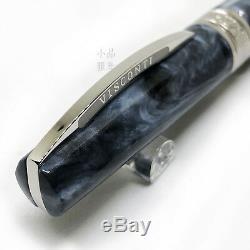 Visconti Mirage Edition Horn Grey Silver Trim Fountain Pen