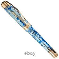 Visconti Opera Ocean Breeze Demonstrator Fountain Pen Limited Edition Of 48