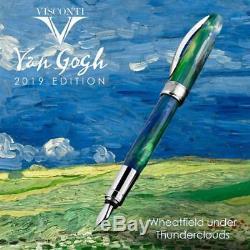 Visconti Van Gogh Gift Set Fountain Pen Green Wheatfield Un Thun Limited Edition
