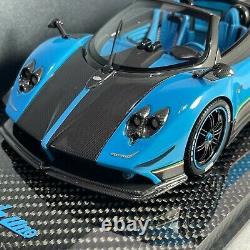 1/18 Peako Modèle Pagani Zonda Cinque Roadster Uno Carbon Base Special Edition
