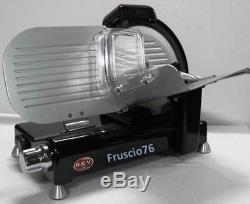 Affettatrice Elettrica Rgv Lusso Special Edition Nera 25 Gs Slicer Nero 250 MM