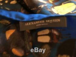 Alexander Mcqueen / Damien Hirst Limited Edition ' Minos Foulard En Soie (2500 $)