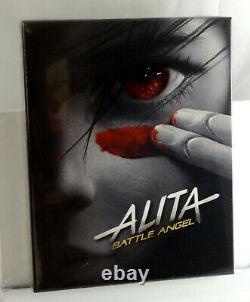Alita Battle Angel Blu-ray 4k + 2d Steelbook Cma Cinemuseum #13 Édition Combo