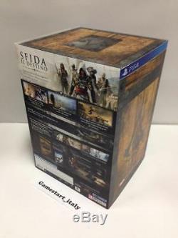 Assassin 's Creed 4 IV Drapeau Noir Buccaneer Edition Collector Ps4 Nuovo Nouveau