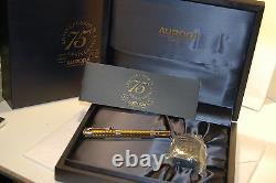 Aurora 75 Anniversary Fountain Pen Limited Edition Nouveau