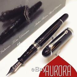 Aurora 88 Édition De Grande Taille Argent Garniture 14k Fontaine Nib Pen