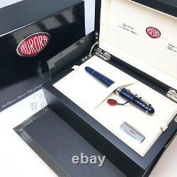 Aurora 88 Limited Edition 688 Sigaro Bleu Marbre 18k Flexible F Fontaine Nib Pen