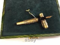 Aurora En Or 18 Kt De Benvenuto Cellini Limited Edition Fountain Pen 86/199