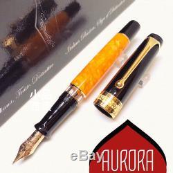 Aurora Special Edition Optima O'sole Mio 14k Fountain Pen