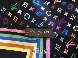 Authentique Limited Edition Louis Vuitton Yeux Amour Écharpe Murakami