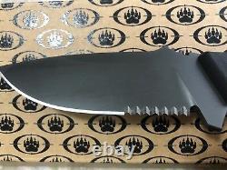 Blackwater Limitée Couteau Édition, Hs 4 Swar, Fabriqué En Italie Par Lionsteel