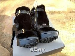 Bnib Alexander Mcqueen Vison Limited Edition Bottes De 38 Us $ 8 3195