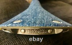 Brooks Cambium C17 Denim Levi Limited Edition Nos