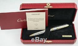 Cartier Édition Limitée Du Centenaire Louis Cartier 100 Ans En Amérique Ballpoint