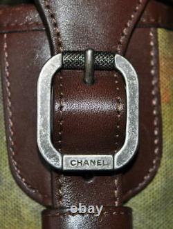 Chanel 2015 Edition Limitée Toile Graffiti Sur Les Pavements CC Messenger Bag, Nib