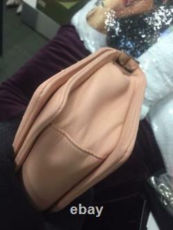 Chanel Boy Stingray Leather Limited Edition Runway Sac Nu Rose