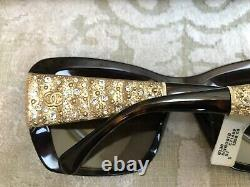 Chanel Lunettes De Soleil Edition Limitée Bijou Surdimensionné 5301b C. 714/s9 Nouveau Wbox 1 350 $