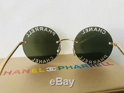 Chanel Pharrell Limited Edition De Gold Frame Capsule Collection Lunettes De Soleil