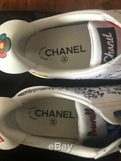 Chanel Williams Pharell Graphite Sneakers Limited Edition Épuisé Taille Eu38.5