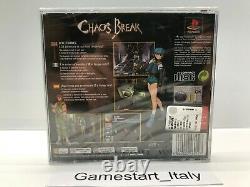 Chaos Break Sony Ps1 Nuovo Sigillato Pal Version New Sealed Very Rare