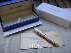 Classique Stylos Cp8 Ag925 Argent Sterling Limited Edition 2008 Flamme Stylos