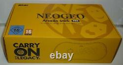 Console Snk Neogeo Arcade Stick Pro Version 20 Jeux Edition Limitée Nouveau