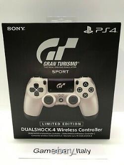 Contrôleur Wireless Dualshock 4 Gran Turismo Sport Limited Edition Ps4 Nuovo