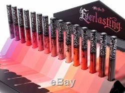 D Everlasting Von Kat Obsession Liquide Rouge À Lèvres Collectors Edition Set 15 Pièces