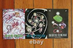 Day Of The Flying Head Shintaro Kago Publie #2 3 4 New Nm Limited Edition Comics