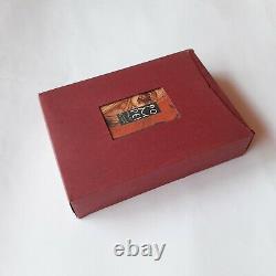 Delta Pompei 1996 DC Edition Limitée Stylo De Fontaine En Or 18k Bouteille D'encre Nib Moyenne