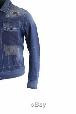Diesel D Jim 0855j Mens Denim Jeans Veste D'hiver Outwear Coat Limited Edition
