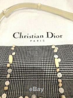 Dior Motif Checkered Perle Malice Sac À Bandoulière Limited Edition