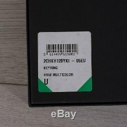 Dior X Kaws 690 $ Limited Edition Signature Bee En Laiton Et Porte-clés En Cuir