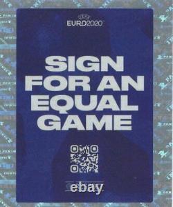 Édition De Tournament Euro 2020 Set De Compétition 654 (pas D'album), Édition Bleuea