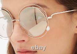 Édition Limitée Chloe Carlina Avec Lunettes De Soleil Pearl 58mm Msrp$495 Rare Find