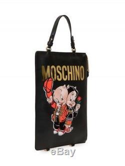 Édition Spéciale! Moschino Couture Jeremy Scott Porky Pig Petunia Pig Sac À Dos