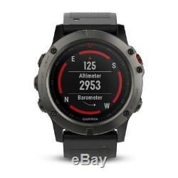 Fenix 5x Sapphire Garmin Edition Smartwatch 010-01733-01 Gps Montre Cardio Intelligent