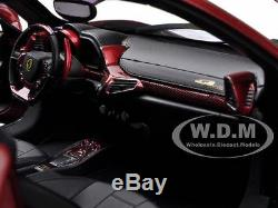Ferrari 458 Italia Elite Chine Édition 1/18 Model Car Par Diecast Hotwheels Bck12