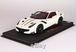 Ferrari F12 Tdf Italia Bianco Edition Limitee 20 Pc 1/18 Bbr P18121iw