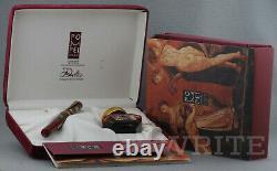 Fountain Pen Delta Limited Edition Pompei 0516/1600 Nib F Complete Box & Papers
