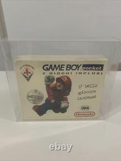 Gameboy Pocket Limited Edition Fiorentina Nintendo Italie Soccer Calcio Scellé