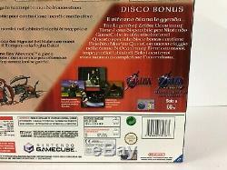 Gamecube Zelda Wind Waker Pak Limited Edition Violet Nuova New Pal
