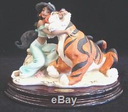 Giuseppe Armani Jasmine Et Rajah # 410 C Collection Disney Limited Edition