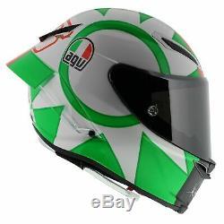 Gp-agv Pista R Limited Edition Rossi Italie Mugello Tricolore Casque De Moto