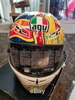 Gp-tech Agv Dreamtime Signe Valentino Rossi Édition Limitée XL Withbox