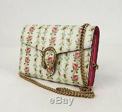 Gucci Dionysus Limited Edition Off White Chaîne En Cuir Floral Sac 401231 2067