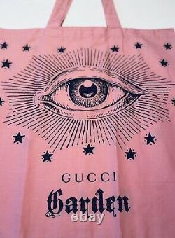 Gucci Garden Eye Motif Tote Bag De Florence, It- Nouveau, Édition Limitée & Rare